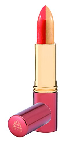 Ikos Duo Lippenstift gelb/orange kussecht, 3.5 g