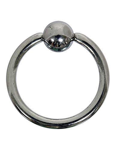 bodypiercing Set of 2 Ball Closure Ring BCR 316L Surgical Steel 1.0 - 1.2 mm 1.0 x 8 mm.