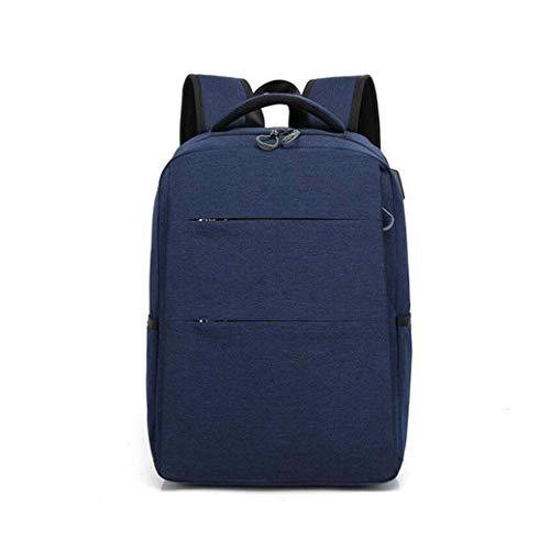 DongYuYuXuXi Knapzak, Anti-diefstal USB15.6 naar 17-inch Laptop Rugzak Reistas Blauw