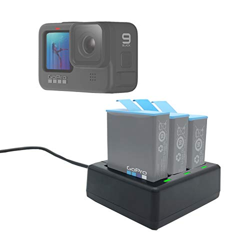 Fast Battery Charger Hub for GoPro Hero 9