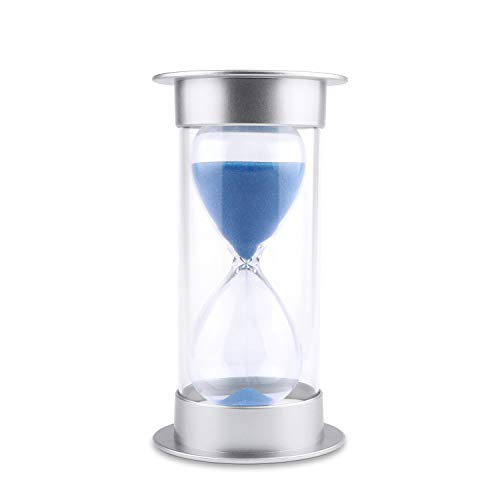 Hourglass Sand Timer 5/10/15/30/45/60 minutes Sand glass Timer for Romantic Mantel Office Desk Book...