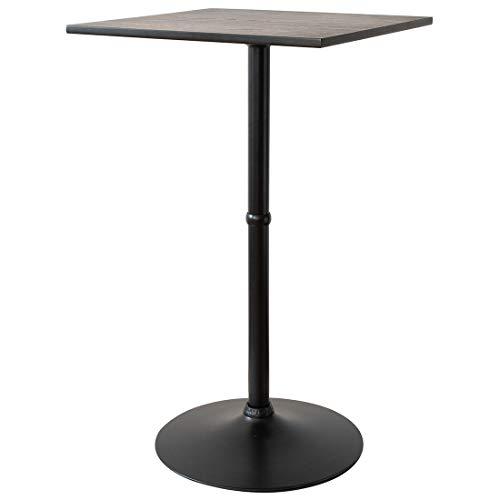 スクエアハイテーブル CARRE(キャレ)バーテーブル 幅60×奥行き60×高さ101cm