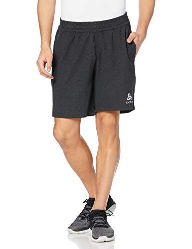 Odlo Shorts Millennium Element Shorts Homme Black Mélange FR: L (Taille Fabricant: L)