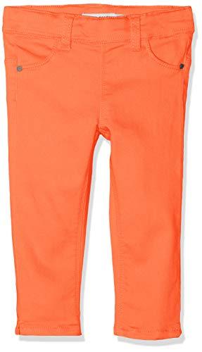 NAME IT NAME IT Mädchen NMFPOLLY TWIBATINNA Capri Leggings, Orange (Emberglow Emberglow), (Herstellergröße: 104)