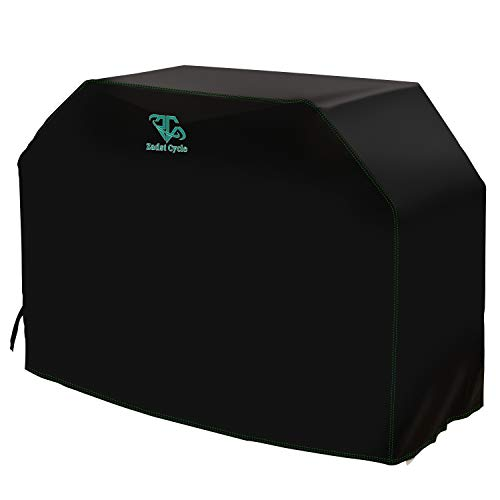 Grill Covers 72 inch Heavy-Duty 600D BBQ Grill Covers Plus PVB Surface Upgraded Waterproof Odor-free Barbecue Gas Grill Cover Black for Weber,Char-Broil,Blackstone,Nextgrill Gas Grill,Storm-proof