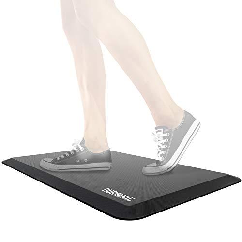 Duronic DM-MAT1 Anti-Ermüdungsmatte | Anti Fatigue Fußmatte | Komfortmatte | Antimüdigkeitsmatte | Arbeitsplatzmatte für Sitz- Steh Schreibtisch/Hausarbeiten/Werkstatt (81 x 51 cm)