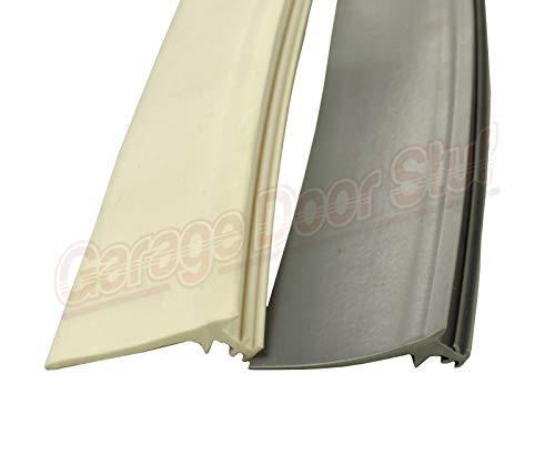 Read About Custom Garage Door Trim Seal - Wood Door Stop Insert (35', Gray)
