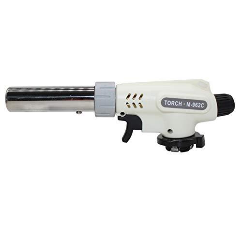 Duradero Antorcha de gas llama pistola de cocción soldadura de butano automático automático de gasolina electrónica quemador de gas de soldadura de gas antorcha quemador de gas llama para Creme Brulee