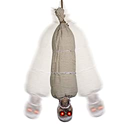 Halloween Cocoon Corpse Animated Decoration