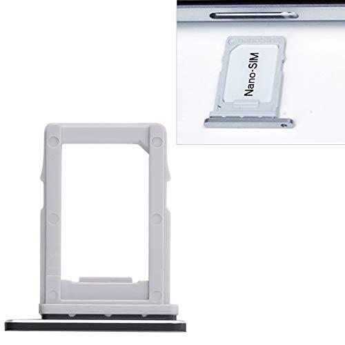 jingtingmy Fijar Las Piezas del teléfono renovar para LG Q6 / M700 / M700N / G6 Mini Accesorio de Accesorios. (Size : Sim Card Tray (Black))