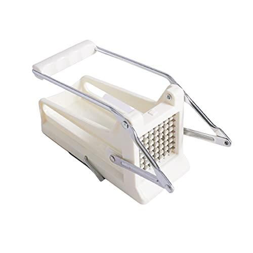 ASDFK Cortador de fruta francesa, cortador de potato, cortador de doble cara, fácil de limpiar