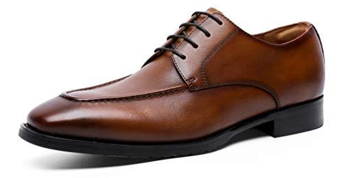 [DESAI] 本革 ビジネスシューズ 外羽根 紳士靴 防水防滑 通勤 通気性 冠婚葬祭 メンズ 革靴 24.0-27.0cm(24...
