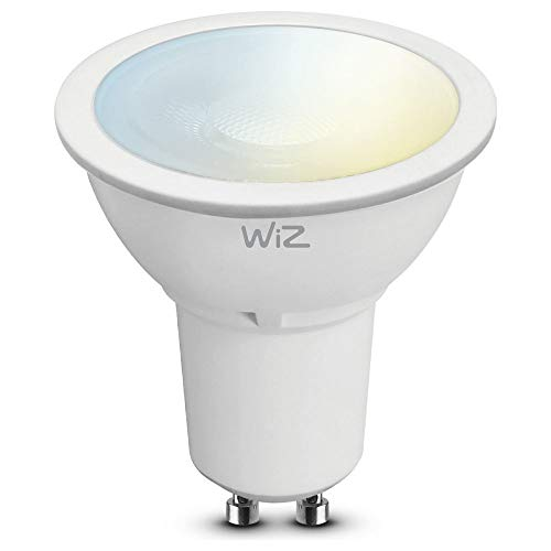 WiZ Smart LED Leuchtmittel G2 warmweiß GU10 (Smart Home, Dimmbar, WLAN, 9W - 50W Leistung, 2700K, lm350, App & Voice Control Alexa, Siri, Google & IFTTT)