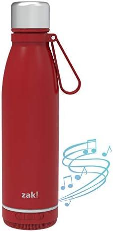 Zak Designs Zak Play Bluetooth Smart Stainless Steel Water Bottle Wireless Speaker Reusable product image