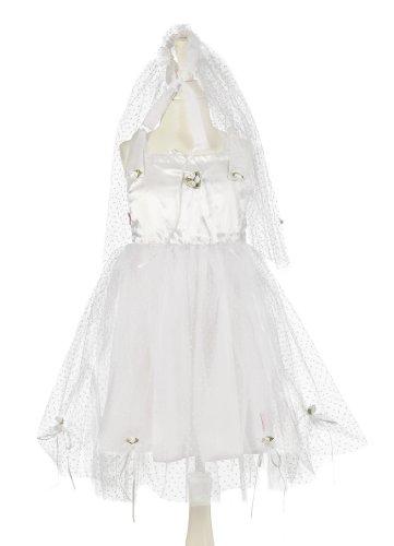 Souza for Kids - 103 - Déguisement - Costume - Mariée - Robe/Voile - 4-6 Ans - 104-116 cm
