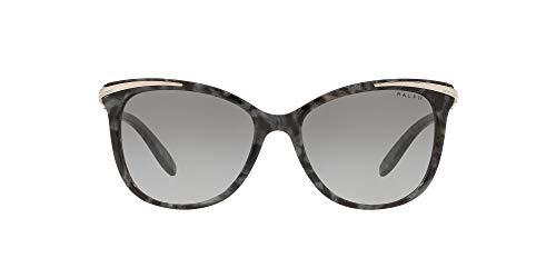 Ralph Lauren Unisex 0RA5203 Sonnenbrille, Marble Black (573611), 54