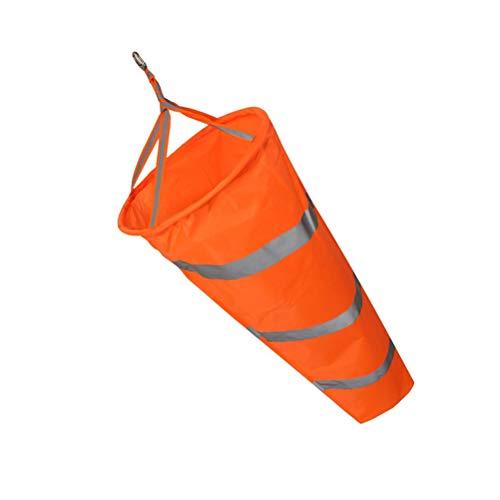 Windsack, Airport Windsock Rip-Stop Outdoor Windmesssockentasche, Wind Guage Sockentasche mit reflektierenden Gürtelschwenkclips zur Windrichtung und Festigkeitsanzeige für den Außenbereich Farm Park