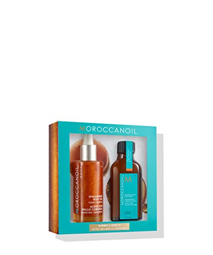 Moroccanoil Treatment and Shimmering Body Oil Duo