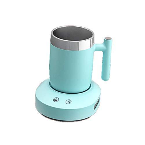 Mini tasse isotherme portable à refroidissement rapide, tasse de refroidissement pour voiture, café, lait, bière, boissons, maison et bureau et voyage-blue