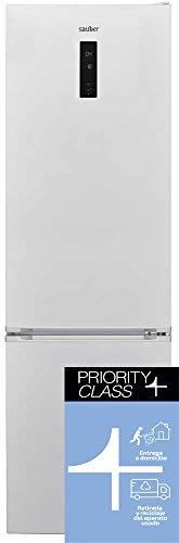 Sauber - Frigorífico Combi SC203B TOTAL Tecnología NO FROST - Eficiencia energética: A+++ - 201x60cm - ENTREGA EN DOMICILIO INCLUIDA