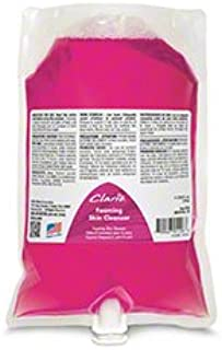 Betco 75029-00 Clario Pink Foaming Skin Cleanser - 1000 mL Bag, 6/case