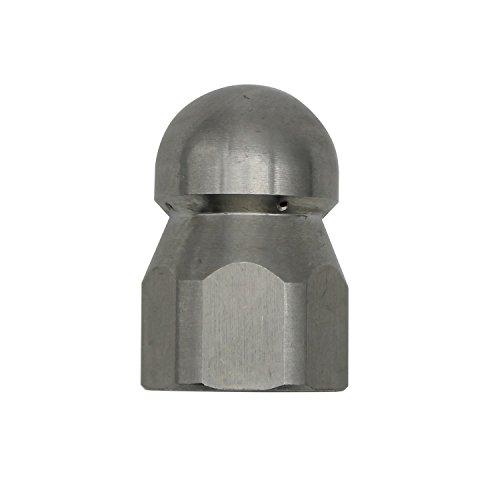 1/2' 1/4' 3/8' 1/8' Boquilla para limpieza tuberias a presion - 250bar Hilo interno - para limpieza alcantarilla/tuberia de desague/bajante de agua tobera boquilla para manguera de limpieza (1/2')