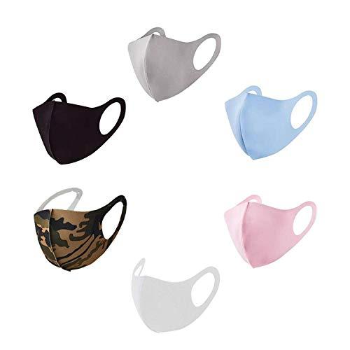 GC-TECH® Maske f. Kinder u. Erwachsene in div. Farben u. Größen perfekte Passform Gesichtsmaske Kindermaske Mundbedeckung (L rosa)