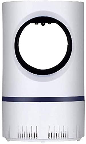 Serrale Lámpara LED eléctrica para Matar Mosquitos, Trampa para Insectos para Interiores y Exteriores, sin Ruido, sin radiación, Fuente de alimentación USB,luz UV fotocatalítica