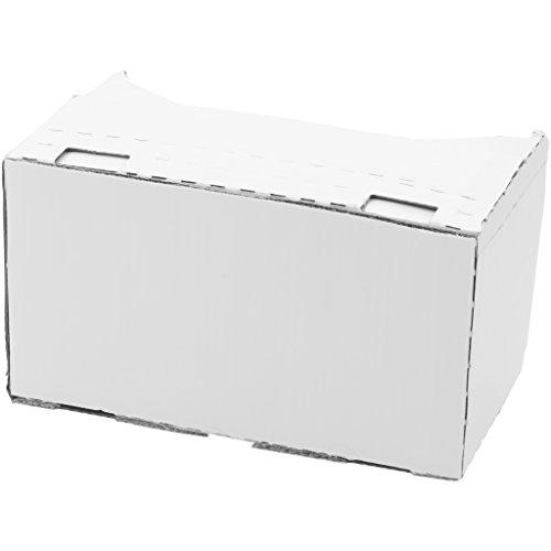 Bullet VR-Brille Veracity aus Karton (19 x 6,5 x 13 x 2,9 cm) (Weiß)