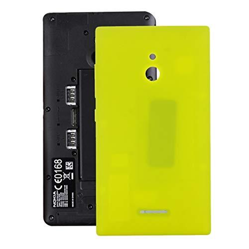 Beilaishi Copertura Posteriore della Batteria for Nokia XL (Nero) Guscio Posteriore Corrispondenza (Color : Yellow)