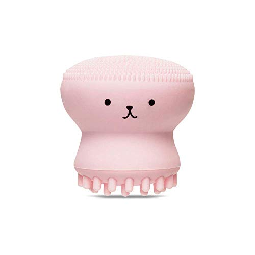 ETUDE HOUSE My Beauty Tool Jellyfish Silicon Brush - All in One Deep Pore Cleansing Sponge & Brush, For Exfoliating, Massage, Cleansing Soft Brush
