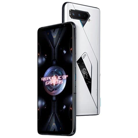 asus unlocked androids Asus ROG Phone 5 Ultimate ZS673KS 5G Dual 512GB 18GB RAM Factory Unlocked (GSM Only   No CDMA - not Compatible with Verizon/Sprint) International Version - Storm White