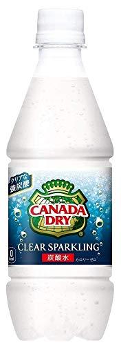 [強炭酸水]コカ・コーラ カナダドライ クリアスパークリング PET 430ml×48本