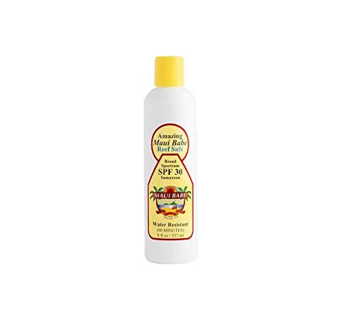 Maui Babe Reef Safe SPF 30 Sunscreen Lotion 8 oz