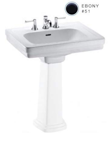 Toto LT532.8#51 Promenade 8-Inch Center Pedestal Basin, Bone