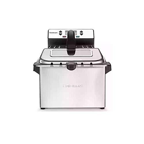 Cuisinart CDF-230 4 Quart Digital Deep Fryer Stainless (Renewed)