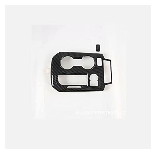 YUJIEXING YJSH Fijación Interior de Fibra de Carbono Cubierta de Marco de Cambio de Engranaje Ajuste para Chevrolet Blazer 2019-2020 Accesorios para automóviles