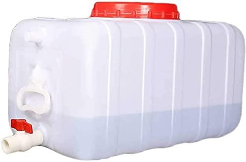 100L Tanque DE Agua Campo PC Agua DE Agua con TANQUILLO DE Agua PLÁSTICO DE PLÁSTICO PLÁSTICO Multifuncional Cubo De Agua Potable Multifuncional Capacidad