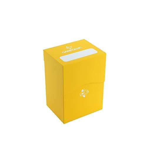 GAMEGEN!C - Deck Holder 80+, Color amarillo (GGS25028ML)