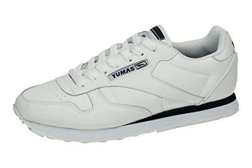 Zapatilla Sneaker Yumas New Galaxia Fabricado en Piel Serraje y Microfibra Plantilla EVA y Textil para Hombre