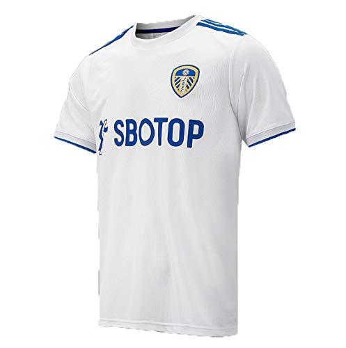 PUPPYY Leeds United 20 – 21 (home & away) - Camiseta de fútbol para hombre, diseño de aficionados, color blanco – XL