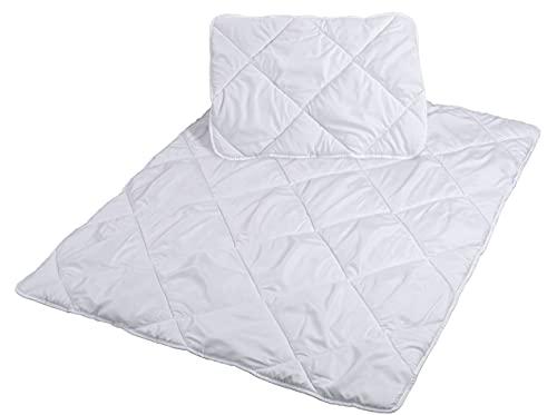 Parure de lit pour Enfant 100 x 135 cm – Couette et taie d'oreiller 40 x 60 cm – Parure de lit 100 x 135 cm en Microfibre