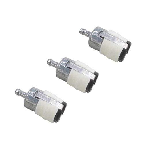 AISEN 3x Benzinfilter Kraftstofffilter für Dolmar PS 460 4600 4605 500 510 5105 390 410 411 115
