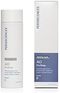 PerioSciences AO ProRinse White Care Mouthwash - 10oz Alcohol-Free Natural Mint Flavor
