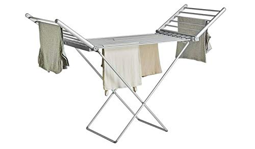 Electric Heated Clothes Dryer, Energy Efficient Foldable indoor Airer,...