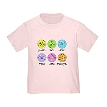 Image: CafePress Sign Language T-Shirt | Cute Toddler T-Shirt | 100% Cotton