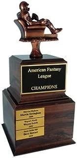 Fantasy Football Trophy - Armchair Quarterback