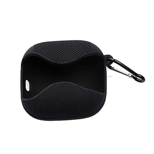Hülle Kompatibel mit Beats Powerbeats Pro Wireless in-Ear Bluetooth Kopfhörer, PC Hart Abdeckung Gehäuse Stoßfestes Schutzhülle für Beats Powerbeats Pro Wireles Earbuds Ladecase (Schwarz)