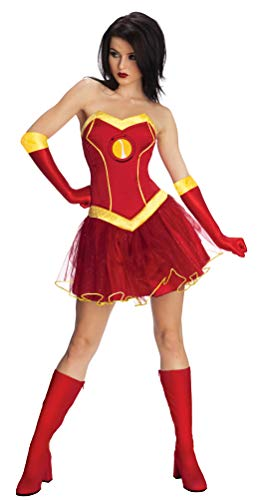 Rubies - Disfraz Oficial de Marvel Miss Iron Man, para Adultos, Talla S, 8-10
