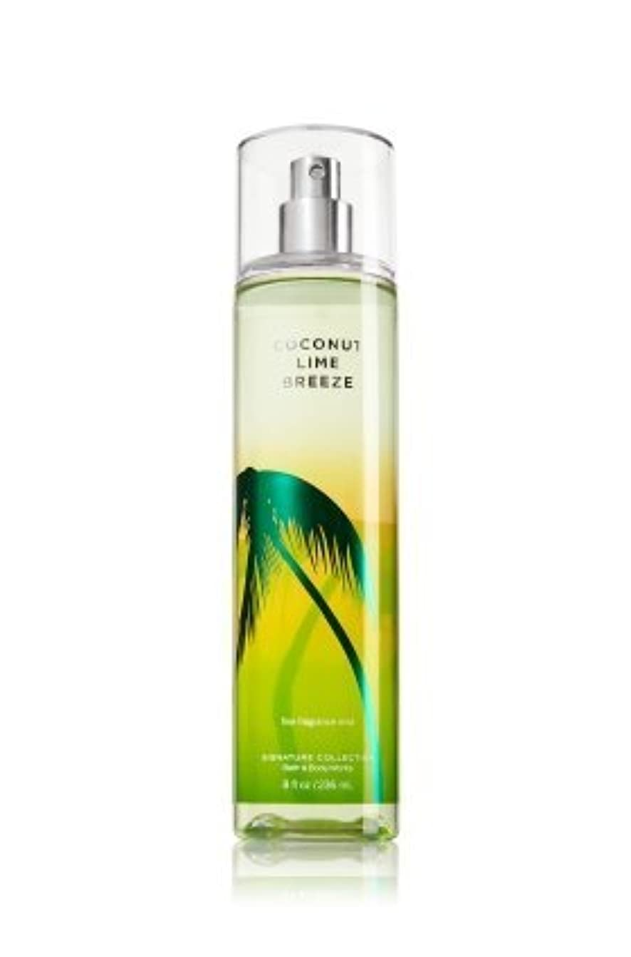 ジョージハンブリー倫理リベラルバス&ボディワークス ココナッツライムブリーズ ファイン フレグランスミスト Coconut Lime Breeze Fine Fragrance Mist [並行輸入品]